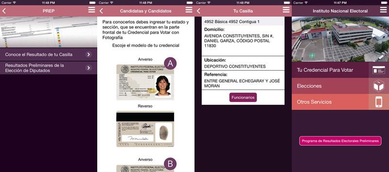 INE lanza app para consultar resultados de las elecciones 2015 - App-resultados-elecciones-2015-INE