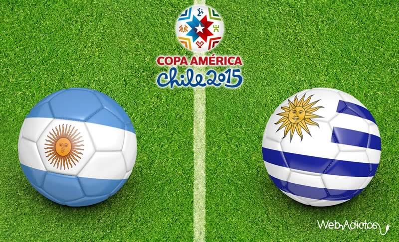 Argentina vs Uruguay ¿A que hora juegan y en qué canal verlo? | Copa América 2015 - Argentina-vs-Uruguay-Copa-America-2015-Horario-y-Canal