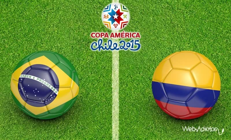 Brasil vs Colombia ¿A qué hora juegan y en qué canal lo pasan? - Brasil-vs-Colombia-Horario-y-Canal-Copa-America-2015-800x486
