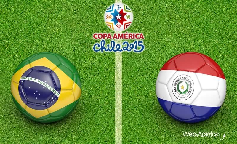 Brasil vs Paraguay ¿A qué hora juegan y en qué canal lo pasan? - Brasil-vs-Paraguay-Horario-Copa-America-2015