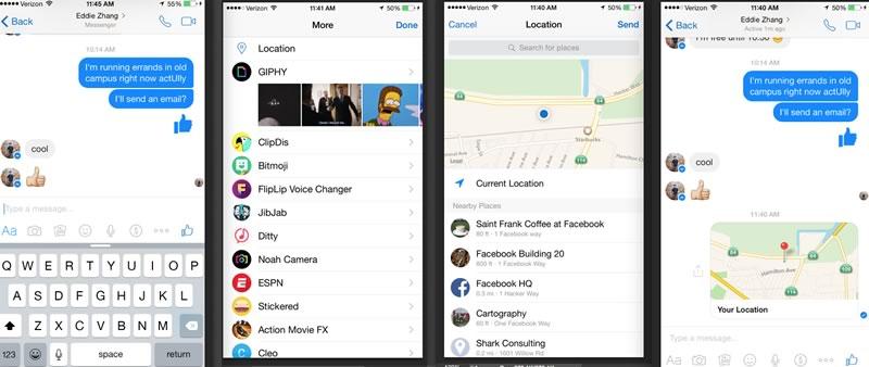 Compartir ubicación en Facebook Messenger ahora es más fácil y con más opciones - Compartir-Ubicacion-Facebook-Messenger