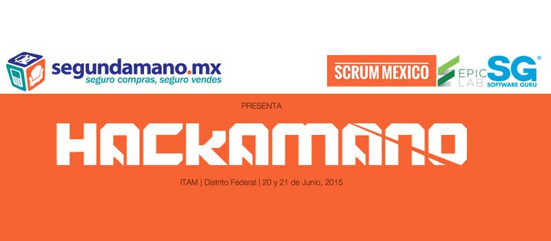 """Anuncian el Maratón de Innovación Tecnológica """"Hackamano"""" - Hackamano-SegundaMano-ITAM"""