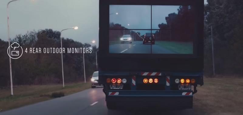 Safety Truck de Samsung promete revolucionar la seguridad en carreteras - Samsung-Security-Truck