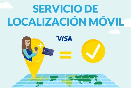 Visa presentó un servicio de localización móvil para evitar fraudes