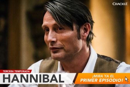 Estreno de la temporada 3 de Hannibal se podrá ver en Crackle ¡Gratis!