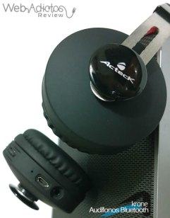 Audífonos Bluetooth Krone, inalámbricos y multifuncionales - acteck-audifonos-krone-15