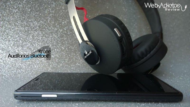 Audífonos Bluetooth Krone, inalámbricos y multifuncionales - acteck-audifonos-krone-16