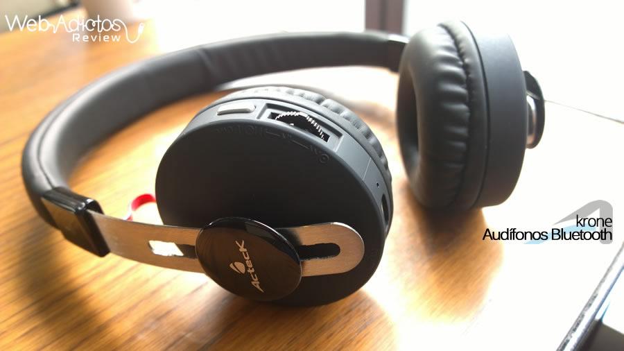 acteck audifonos krone 6 Audífonos Bluetooth Krone, inalámbricos y multifuncionales