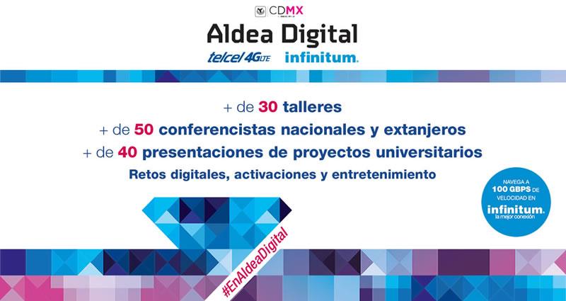Sigue la Aldea Digital 2015 en vivo por streaming - Aldea-Digital-2015-en-vivo