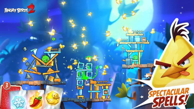 Rovio anuncia el lanzamiento de Angry Bird 2 - Angry-Birds-2_spectacular-spells-800x450