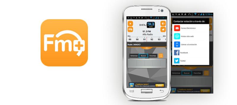 App FM Plus, mejora la forma de escuchar radio en el móvil - App-FM-Plus-banner-800x356