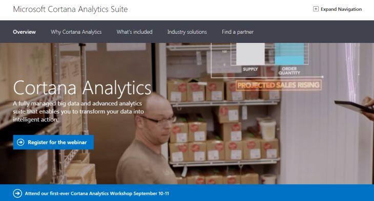 Microsoft presenta al asistente empresarial virtual Cortana Analytics Suite - Cortana-Analytics-Suite