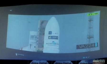 El lanzamiento del satélite Star One C4 fue transmitido en Aldea Digital