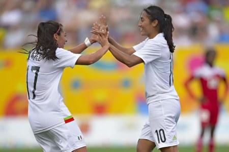 México vs Brasil femenil en Panamericanos 2015