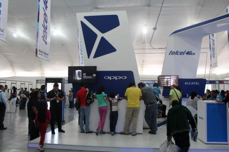 Los dispositivos 4G LTE de OPPO presentes en Aldea Digital - OPPO-Aldea-Digital-800x533