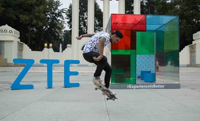 ZTE crea el Filter Cube para presentar #ExperienceisBetter - ZTE-EXPERIENCE-IS-BETTER