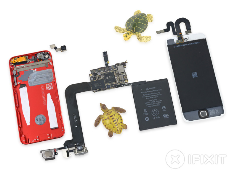 """Autopsia"" al nuevo iPod Touch 6 revela sus verdaderos cambios - iPhone-6-iFixit-800x600"