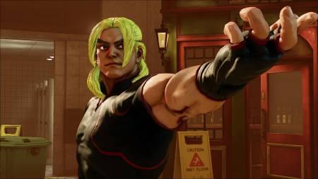 Llega Ken a Street Fighter V con renovada imagen y nuevas técnicas