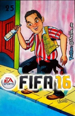 Marco Fabián será la portada de FIFA 16... y sí ¡Hay memes! - memes-marco-fabian-FIFA-16-5