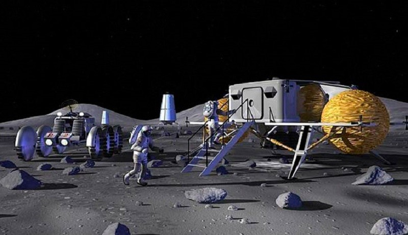 NASA: podría establecerse una base permanente en la Luna - moonbase1-800x461