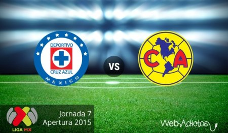 Cruz Azul vs América, clásico en el Apertura 2015 | Jornada 7