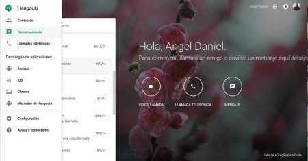Google lanza web dedicada a Hangouts