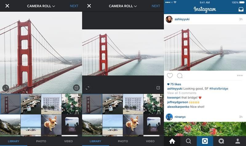 Instagram ya permite formato retrato y paisaje; Star Wars los estrena - Instagram-Formato-Retrato-Paisaje
