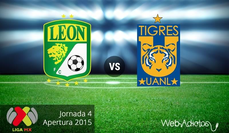 León vs Tigres, Fecha 4 del Apertura 2015 - Leon-vs-Tigres-Apertura-2015