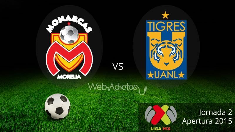 Morelia vs Tigres en el Apertura 2015 - Morelia-vs-Tigres-Apertura-2015-en-vivo