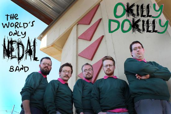 Nace una banda de metal inspirada en Ned Flanders de Los Simpson - Okilly-dokilly-band
