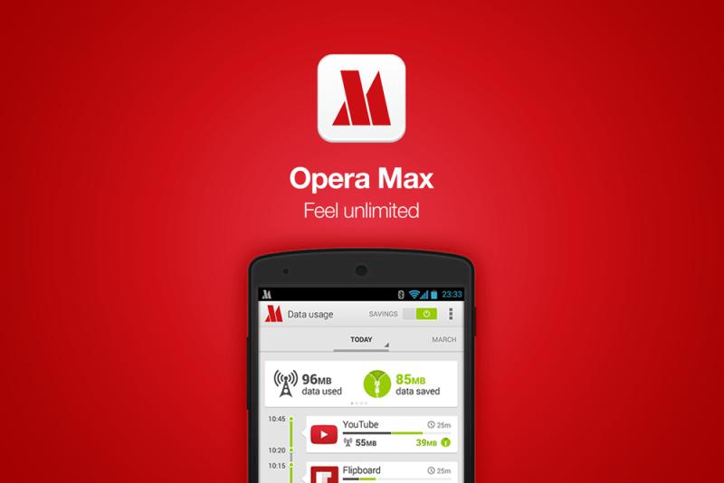 Opera Max te permite ahorrar hasta 50% de datos en YouTube y Netflix - Opera-Max-800x534
