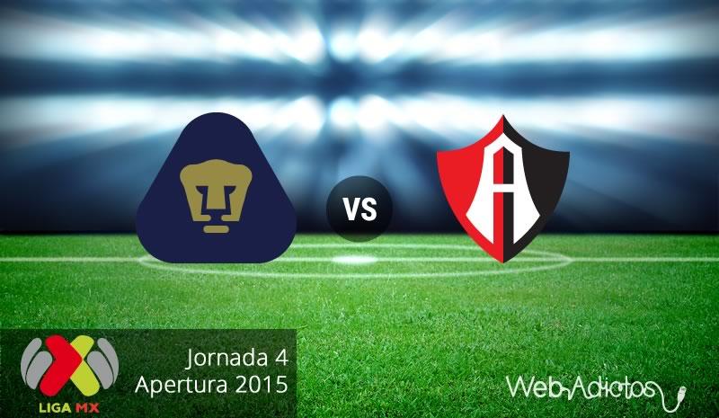 Pumas vs Atlas en la Jornada 4 del Apertura 2015 - Pumas-vs-Atlas-Apertura-2015