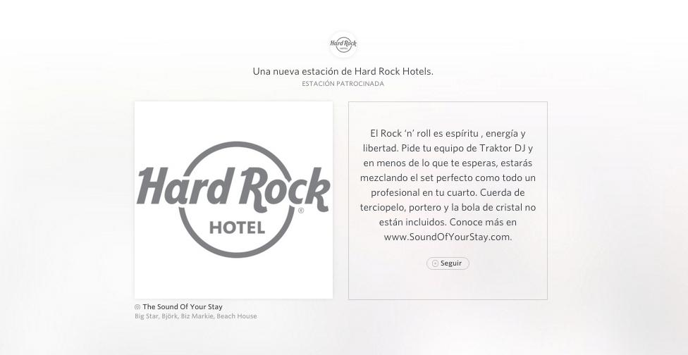 """Rdio presenta """"Experiencias Musicales"""" con Hard Rock - RDIO-HARD-ROCK-hotel"""