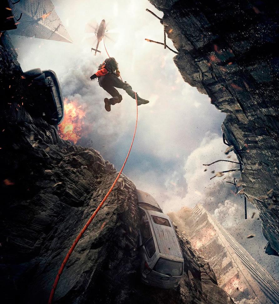 """""""Earthquake Heroes"""", es presentado por Circus para Warner Bros - San-Andreas-pelicula"""