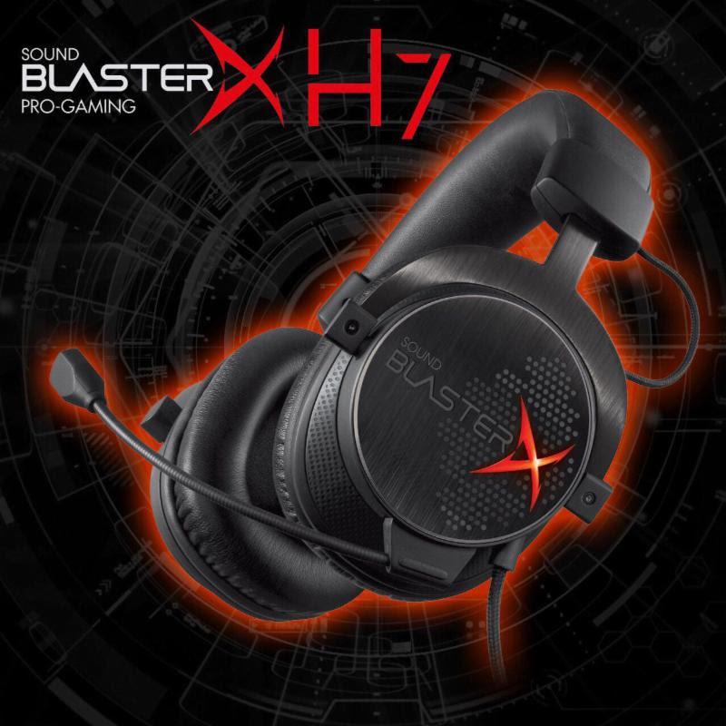Creative lanza en la gamescom Sound BlasterX Gaming - Sound-BlasterX-H7