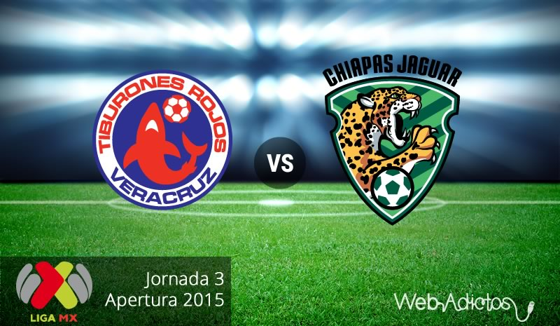 Veracruz vs Jaguares, Jornada 3 del Apertura 2015 - Veracruz-vs-Jaguares-de-Chiapas-Apertura-2015
