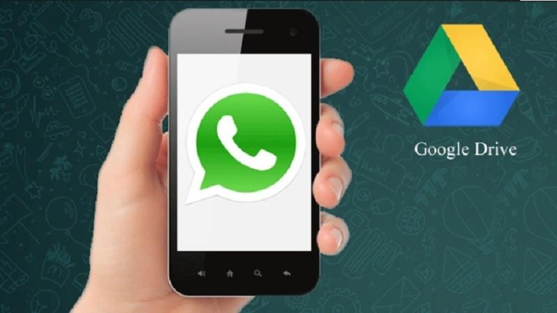 WhatsApp permite respaldar conversaciones con Google Drive - Whatsapp-Google-Drive-800x450