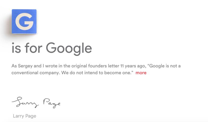 Google se transforma en un grupo de empresas denominado Alphabet y anuncia nuevo CEO - alphabet-800x469
