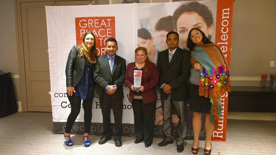 Ranking de las Mejores Empresas para Trabajar del sector TI y Telecom 2015 - great-place-to-work-mexico-2015