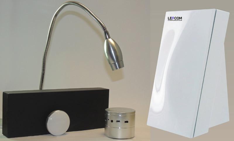 Comenzarán a comercializar tecnología Li-fi mexicana - Bocinas-y-lamparas-con-tecnologia-Li-Fi