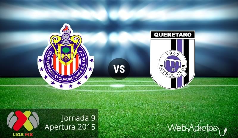 Chivas vs Querétaro, Fecha 9 del Apertura 2015 - Chivas-vs-Queretaro-Apertura-2015