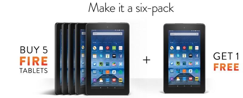 Conoce Fire la tableta de Amazon de menos de $50 USD - Firesix-800x324