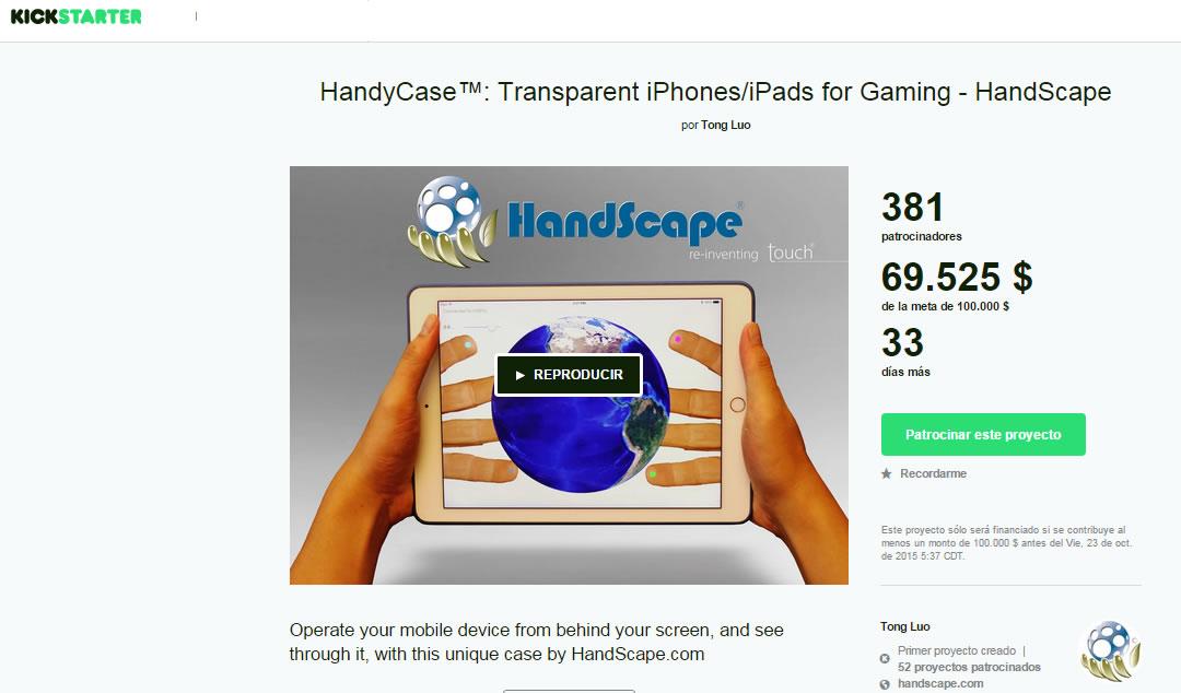 HandyCase lanza tecnología transparente para iPhone e iPad en Kickstarter y abre SDK a desarrolladores - HandyCase-tecnologia-transparente-para-iPhone-iPad