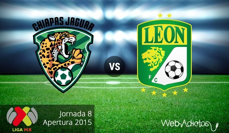 Jaguares vs León, Jornada 8 del Apertura 2015 - Jaguares-vs-Leon-Apertura-2015