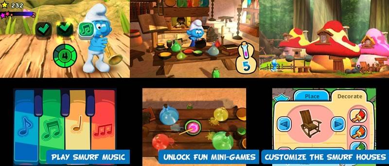 Conoce el nuevo juego de los Pitufos - Juego-de-los-pitufos-The-Smurfs