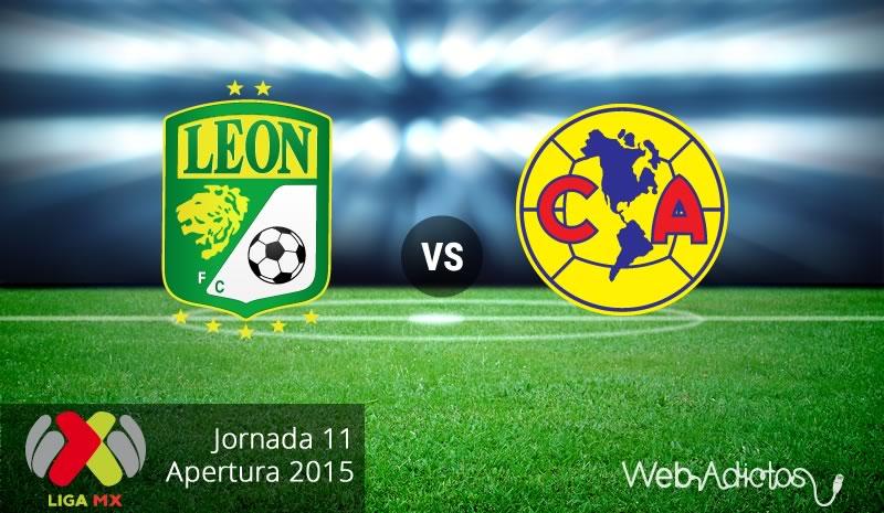 León vs América, Jornada 11 del Apertura 2015 - Leon-vs-America-Apertura-2015