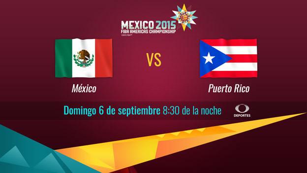 México vs Puerto Rico, FIBA Américas 2015 | Segunda ronda - Mexico-vs-Puerto-Rico-en-vivo-FIBA-Americas-2015