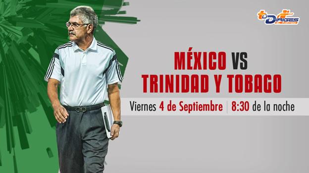 México vs Trinidad y Tobago, Amistoso 2015 en Fecha FIFA - Mexico-vs-Trinidad-y-Tobago-en-vivo-Televisa-Deportes-Amistoso-2015