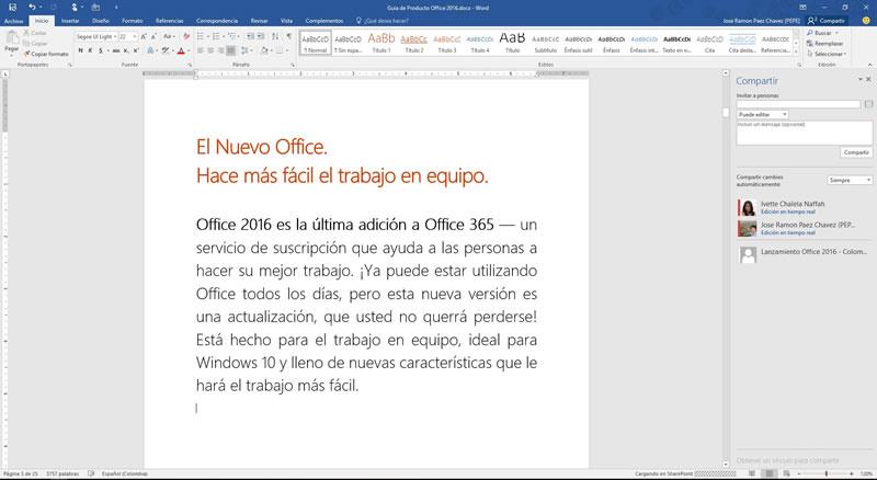 Microsoft Office 2016 ya está disponible para descargar - Office-2016-Word