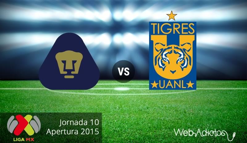 Pumas vs Tigres, Jornada 10 del Apertura 2015 - Pumas-vs-Tigres-Apertura-2015